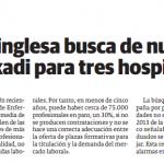 Enfermeras FM en El Correo Vasco