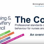 Revisión del código de conducta de enfermeras y matronas del NMC